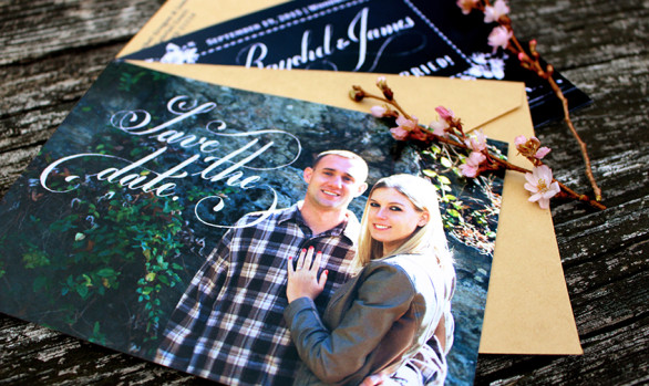 Raychel and James' Save the Dates